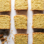 gluten free pistachio almond loaf - www.iamafoodblog.com