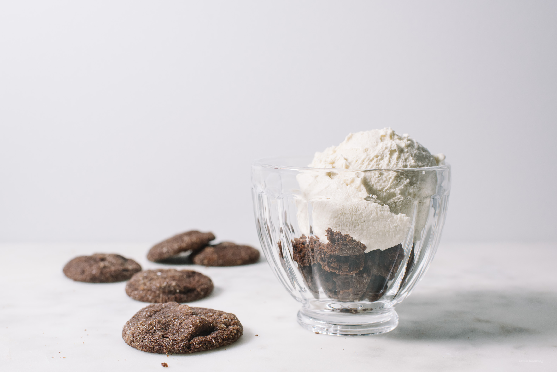 cookies and cream affogato - www.iamafoodblog.com