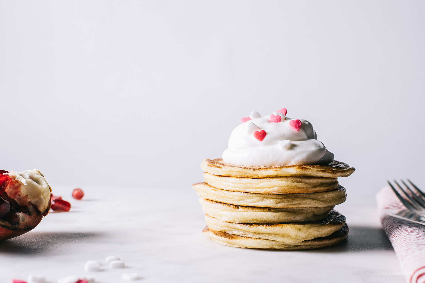 greek yogurt pancake recipe -www.iamafoodblog.com