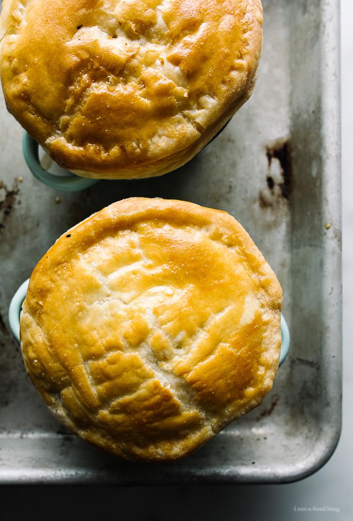 hainanese chicken pot pie - www.iamafoodblog.com
