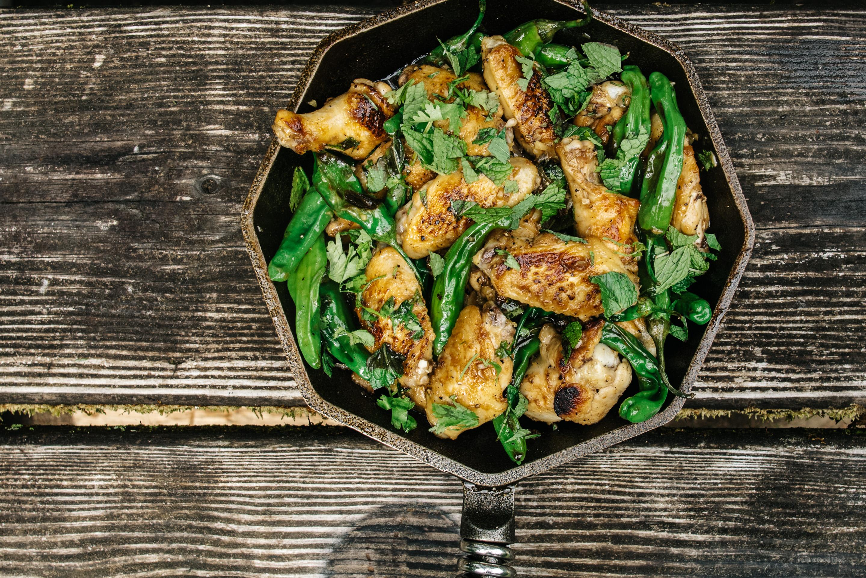 shishito chicken wings - www.iamafoodblog.com
