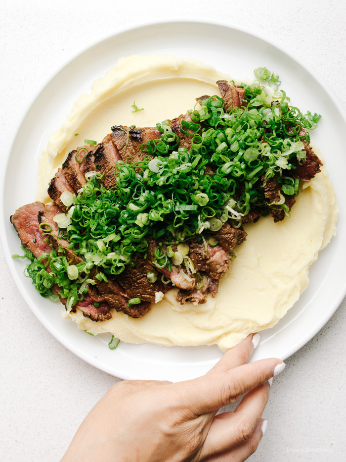 dashi butter steak - www.iamafoodblog.com