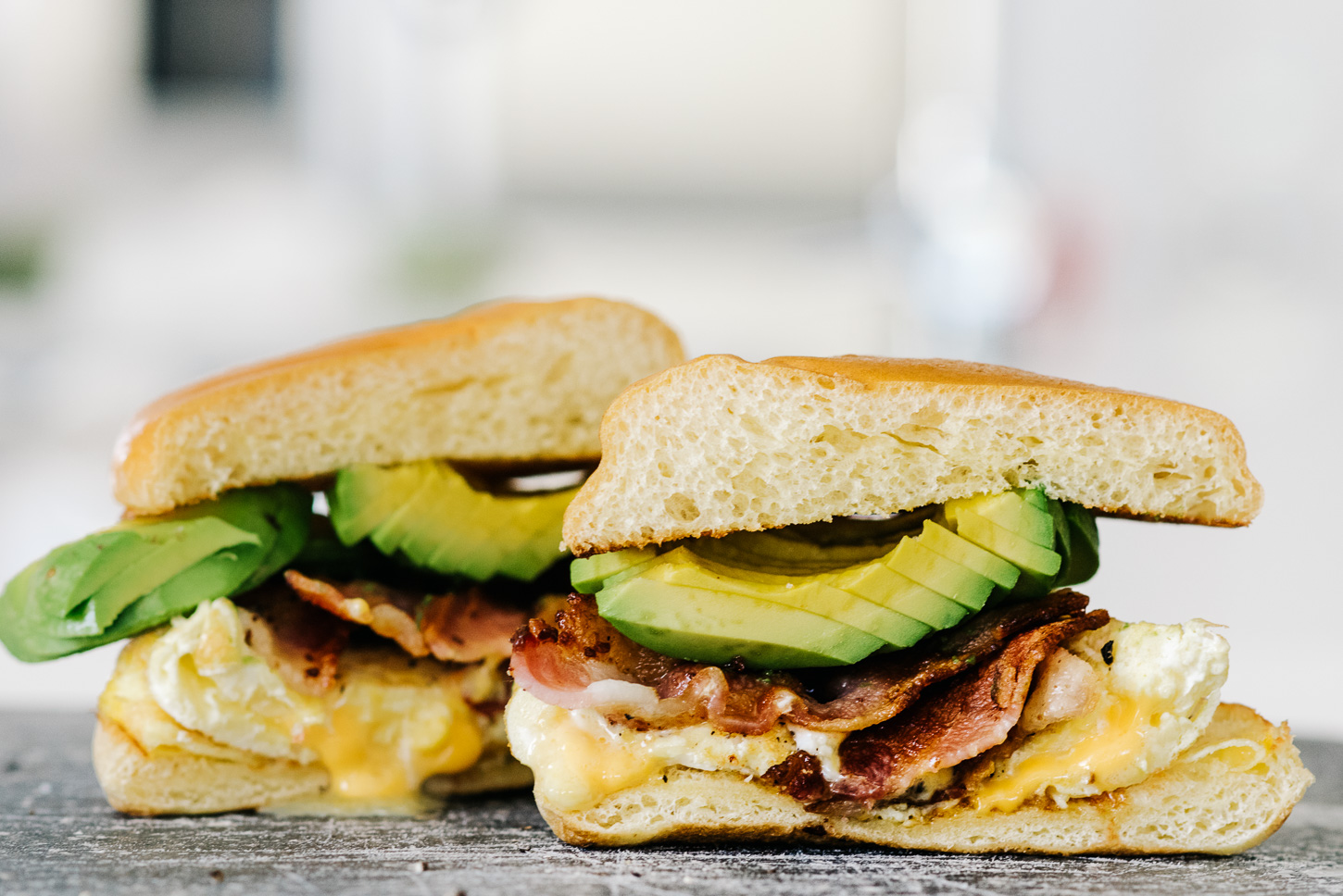 bacon avocado egg sandwich - www.iamafoodblog.com