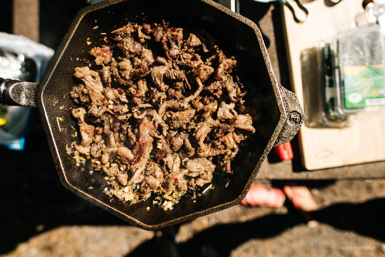 lemongrass beef salad rolls - www.iamafoodblog.com
