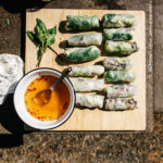 lemongrass beef salad rolls | i am a food blog