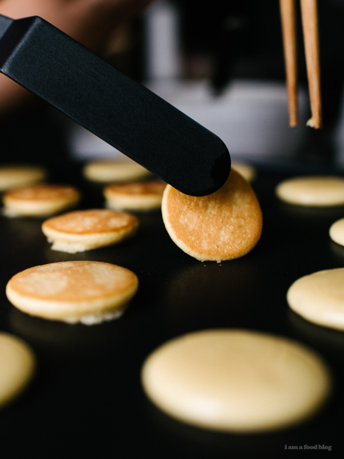 mini dorayaki with azuki paste - www.iamafoodblog.com