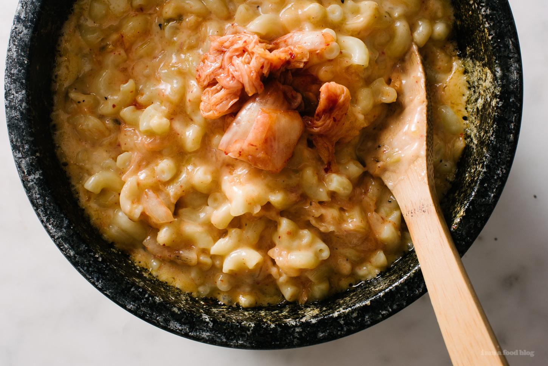 Mac and Kimcheese Dolsot Bibimbap