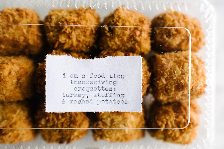 thanksgiving croquettes - www.iamafoodblog.com
