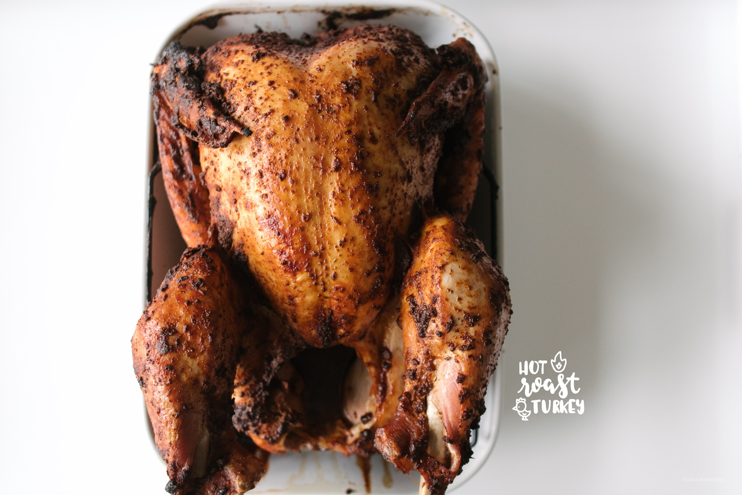hot roasted turkey - www.iamafoodblog.com