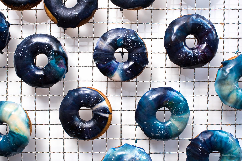 Glaze Galaxy Donuts - www.iamafoodblog.com