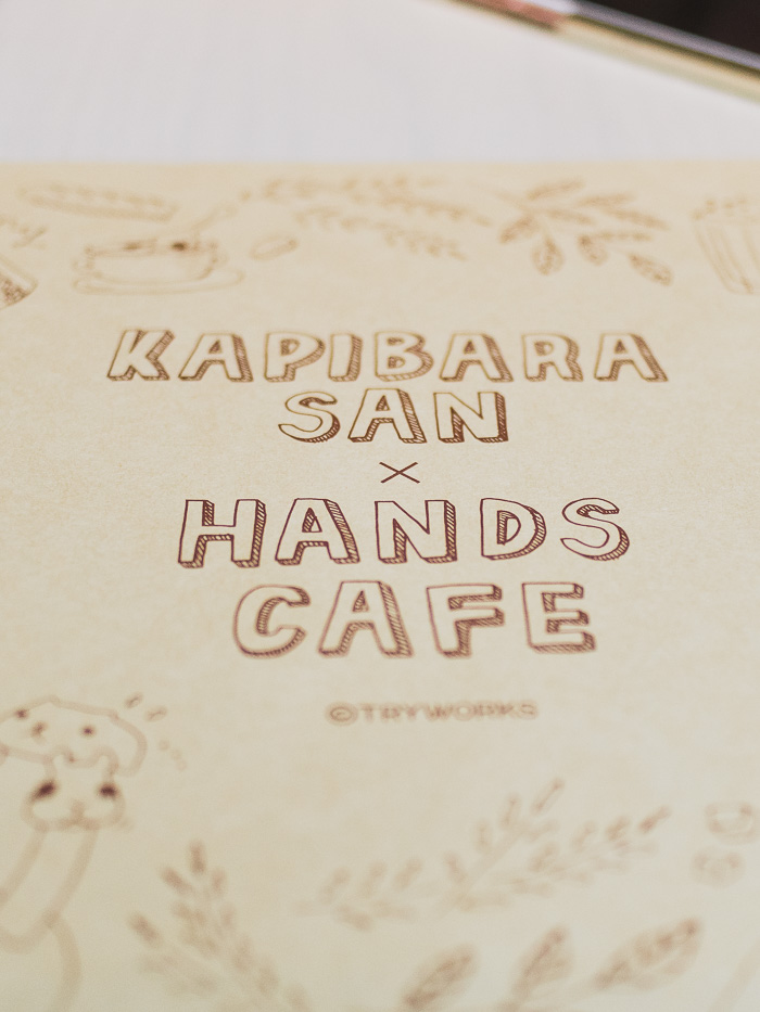 kapibara character cafe - www.iamafoodblog.com