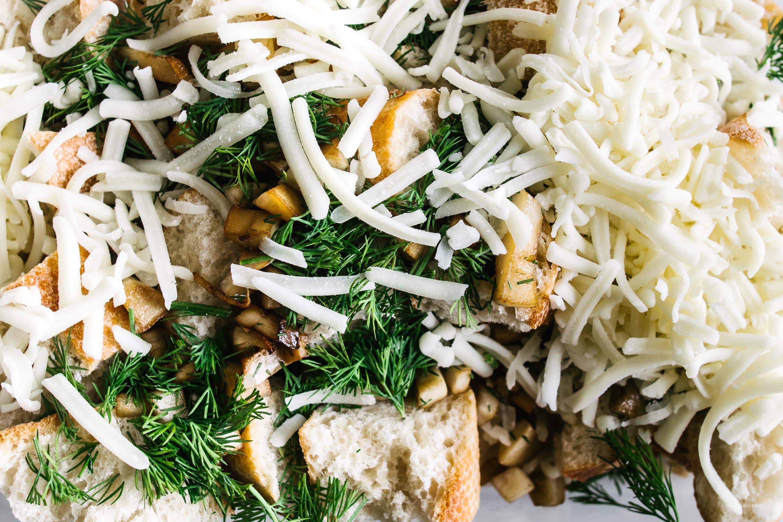 Vegetable Breakfast Strata Recipe - www.iamafoodblog.com