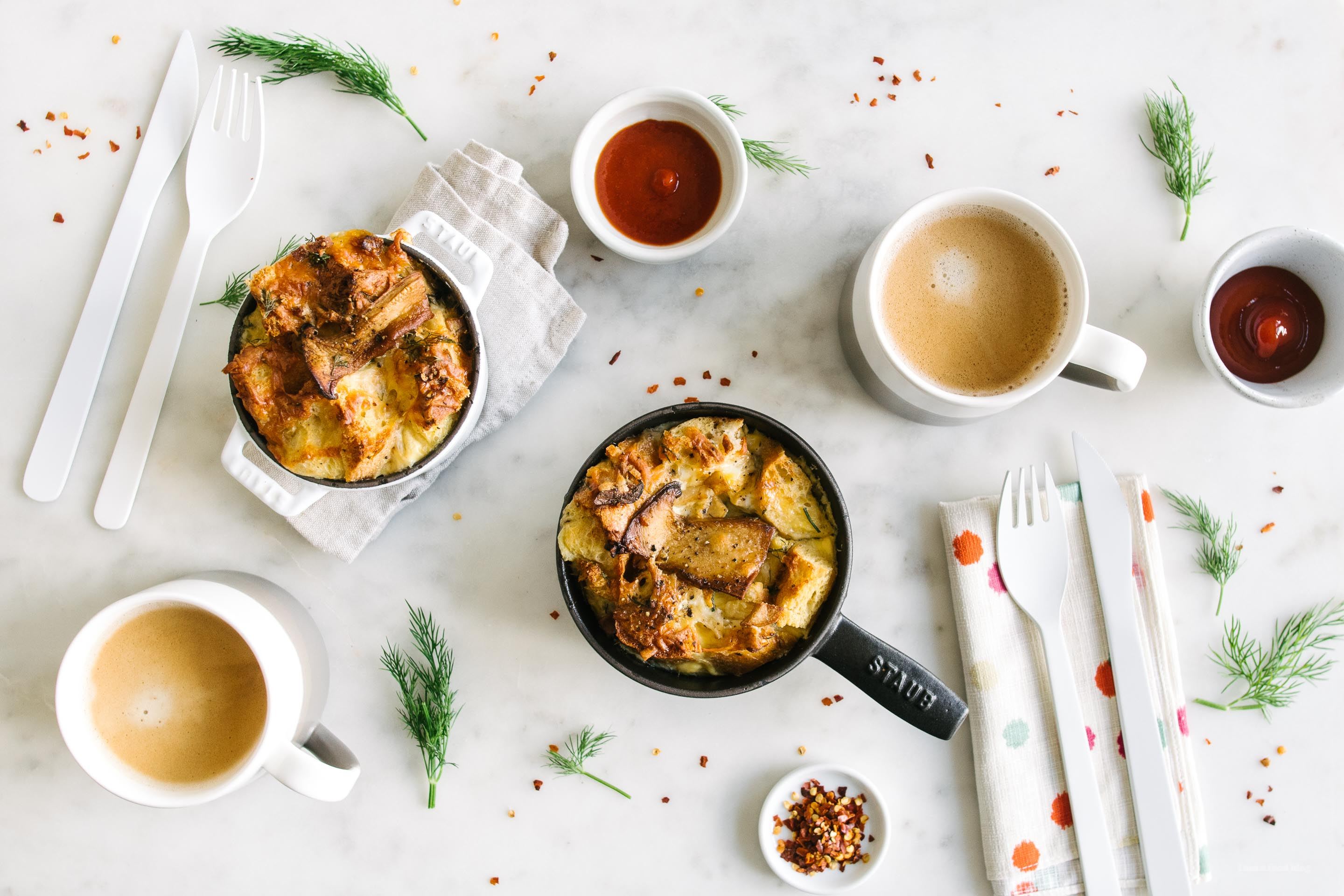 Sunday Brunch: How to Make Breakfast Strata without a Recipe · i am ...