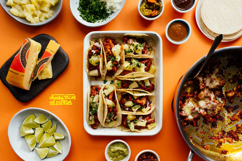 Cheesy Tacos Al Pastor Recipe 183 I Am A Food Blog I Am A