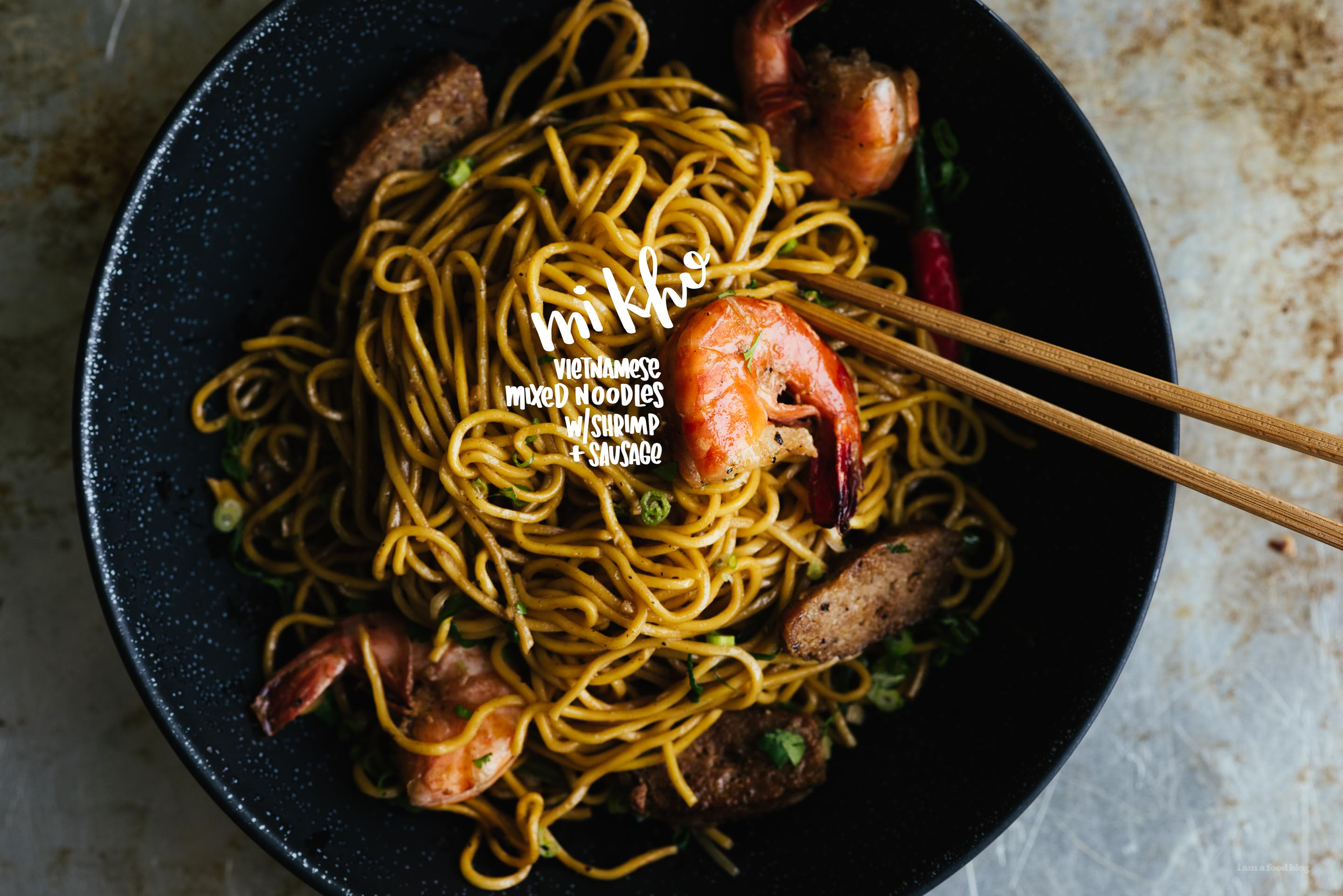 Mi Kho: The best vietnamese noodles you never had · i am a food blog