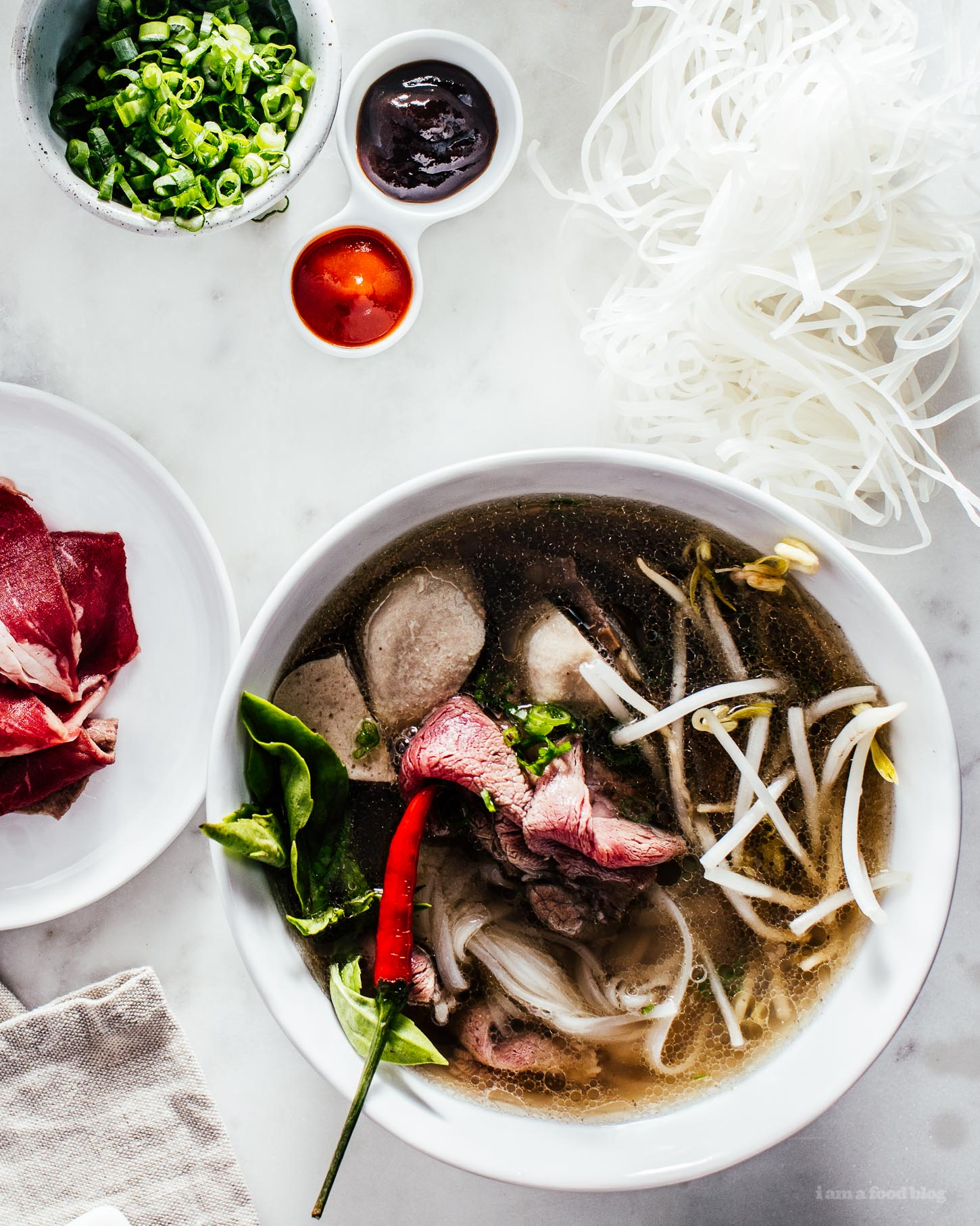 How to Make Basic, Great Pho - www.iamafoodblog.com