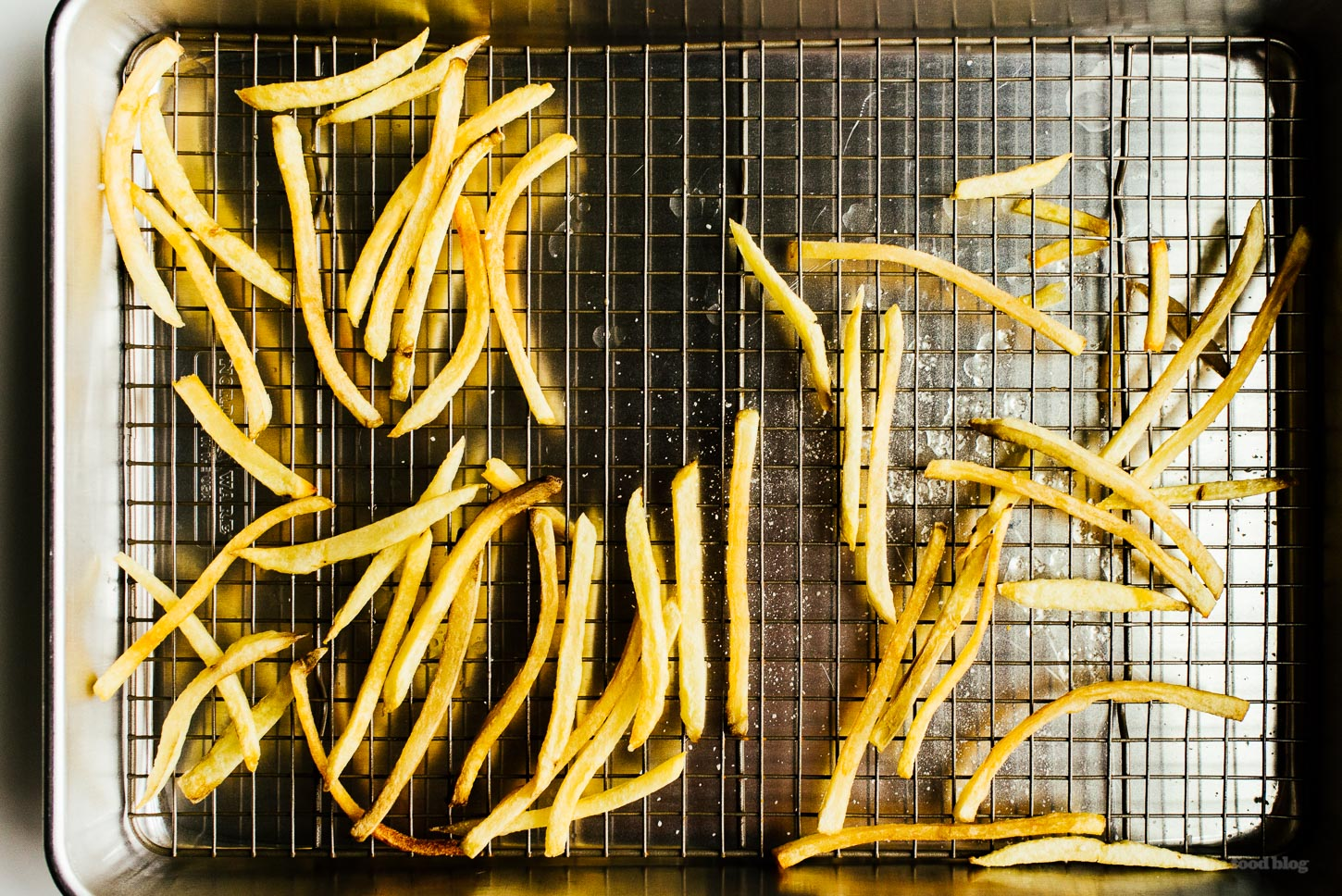 The easiest way to make homemade french fries - www.iamafoodblog.com