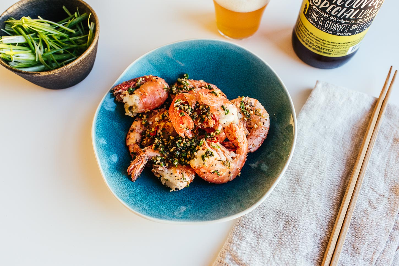 crispy vietnamese prawns - www.iamafoodblog.com