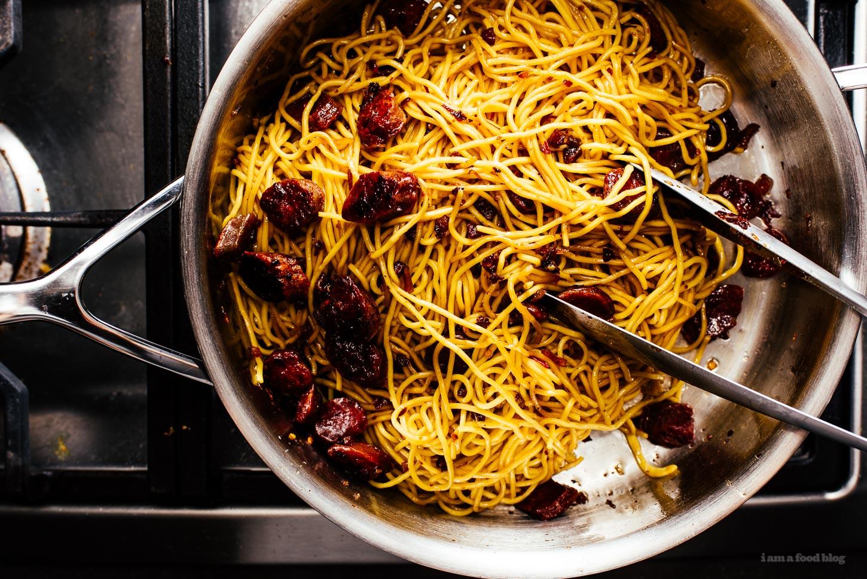 XO Sauce Noodles Recipe - www.iamafoodblog.com