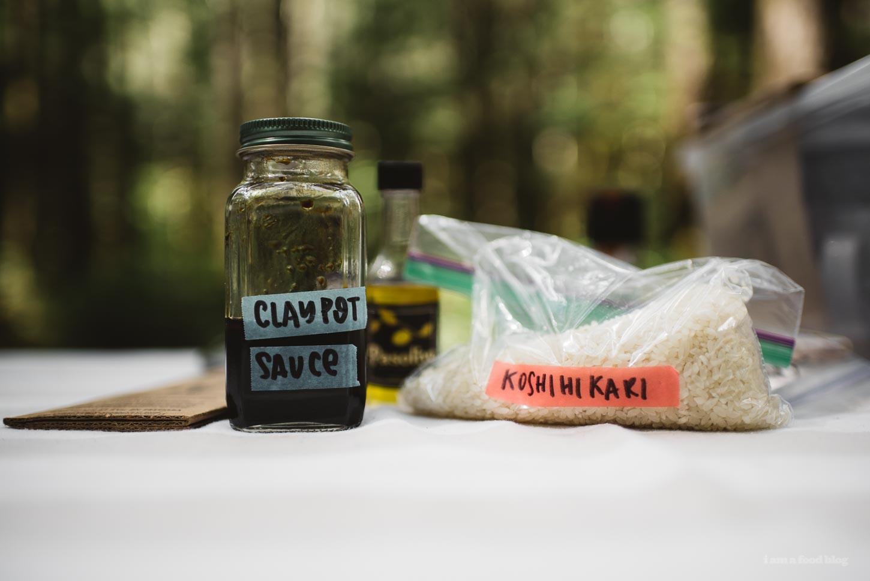 camp claypot chicken rice recipe | www.iamafoodblog.com