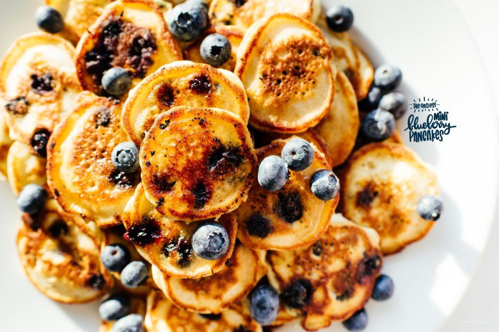 My Favorite Blueberry Pancake Recipe · i am a food blog