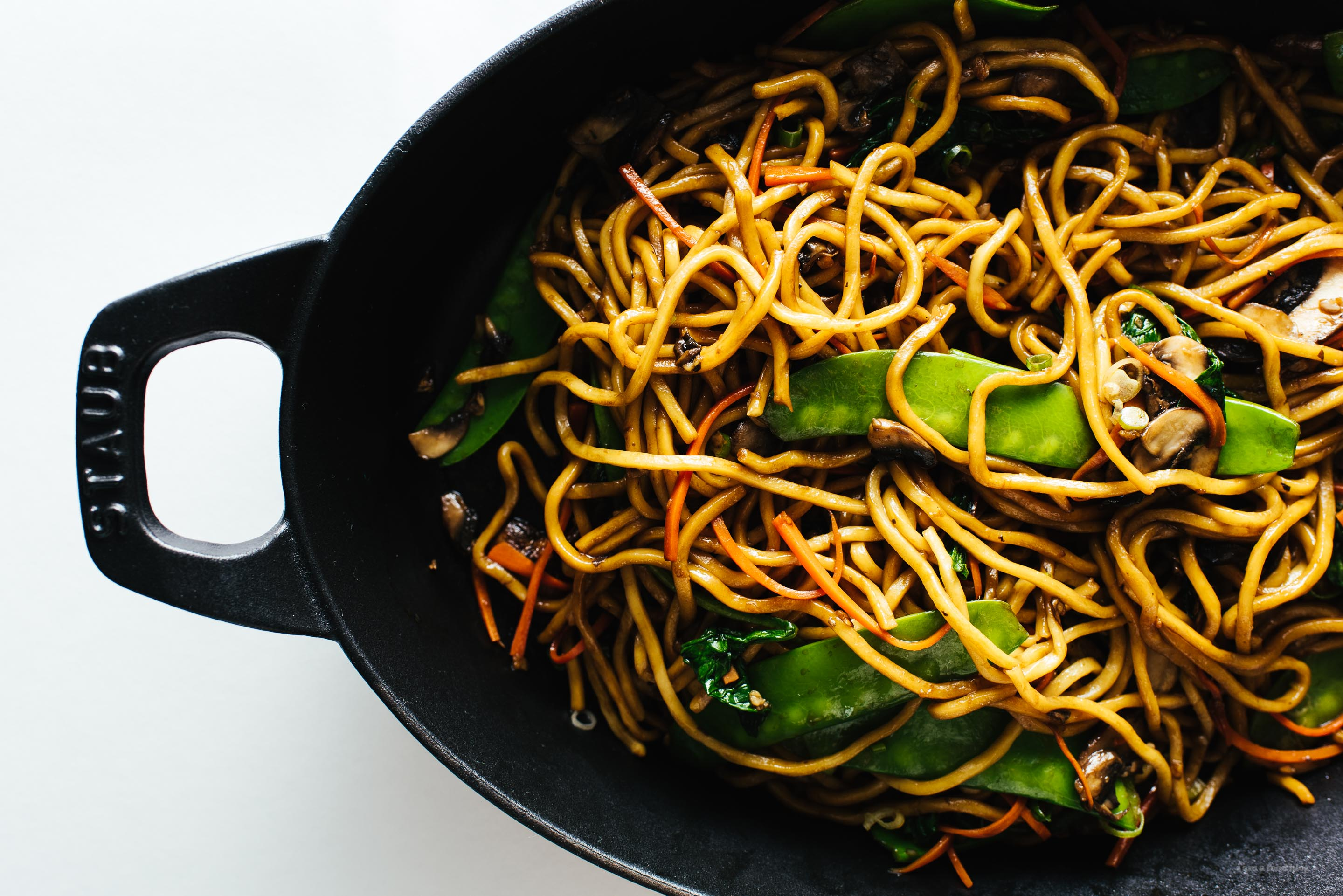 The Real Lo Mein Recipe - www.iamafoodblog.com