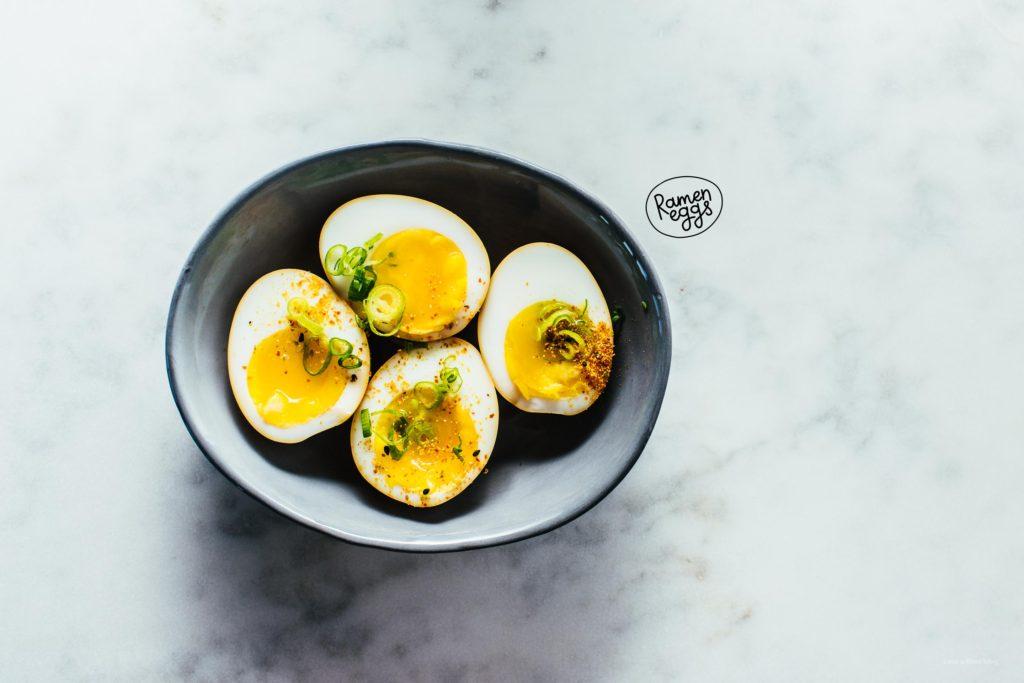 How to Make the Easiest Ramen Eggs - www.iamafoodblog.com