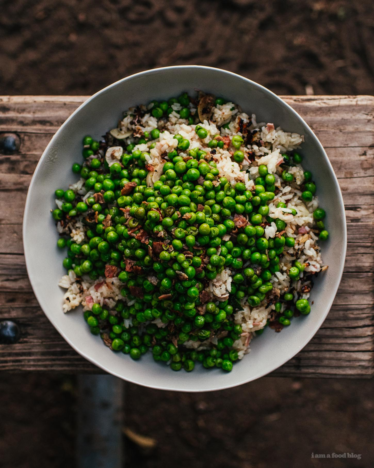 Risi E Bisi Recipe (Rice and Peas!) - www.iamafoodblog.com
