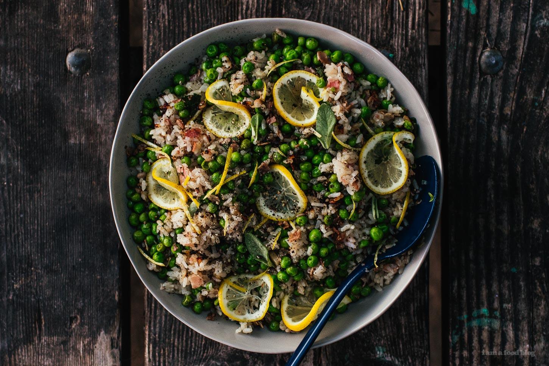 Risi E Bisi Recipe (Rice and Peas!) - www.iamafoodblog.com