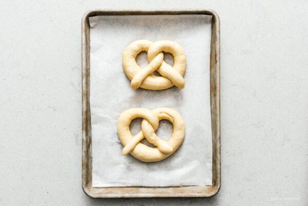 pretzels after second rise | www.iamafoodblog.com