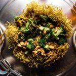 chicken and broccoli chow mein recipe - www.iamafoodblog.com
