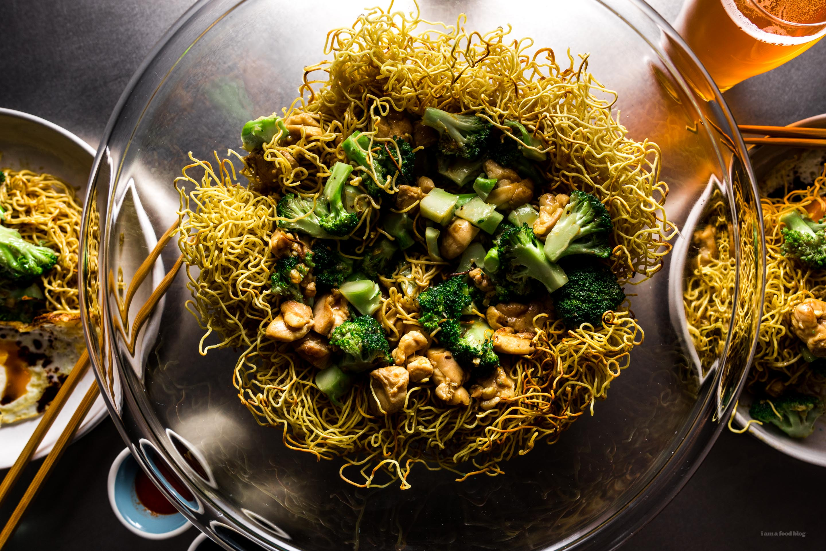 Take Out At Home Chicken And Broccoli Chow Mein Recipe I Am A Food Blog I Am A Food Blog
