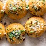 Garlic Parmesan Knots Recipe - www.iamafoodblog.com
