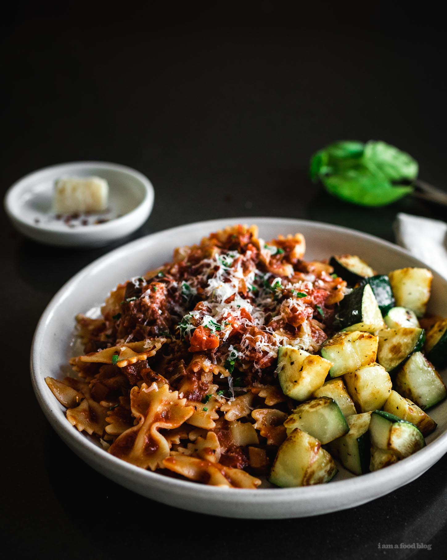 vegetable marinara sauce recipe - www.iamafoodblog.com