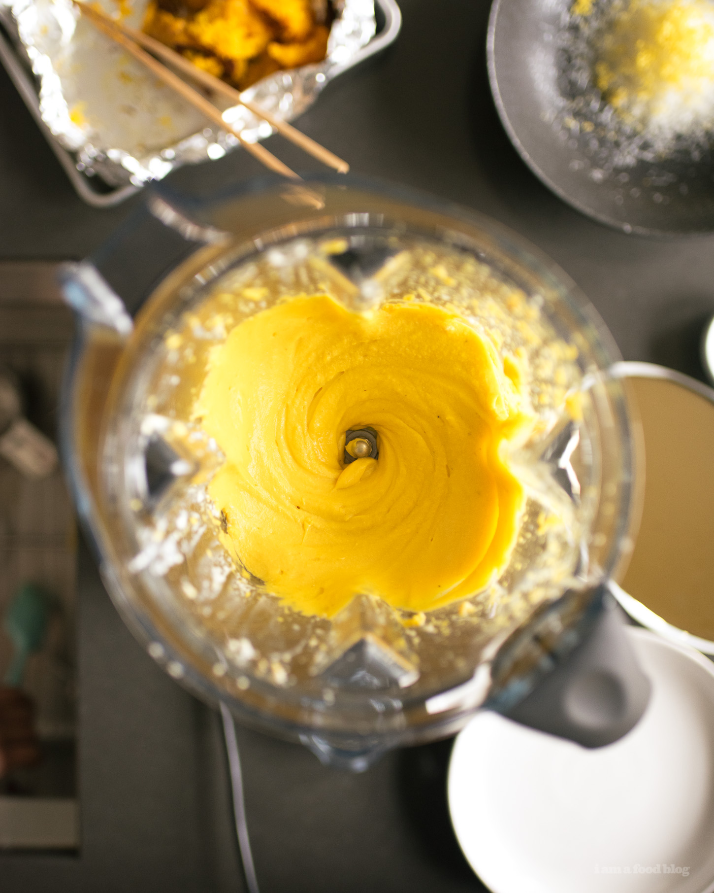 Whipped Ricotta with Roasted Pumpkin - www.iamafoodblog.com