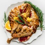 Spatchcock Roast Turkey Recipe | www.iamafoodblog.com