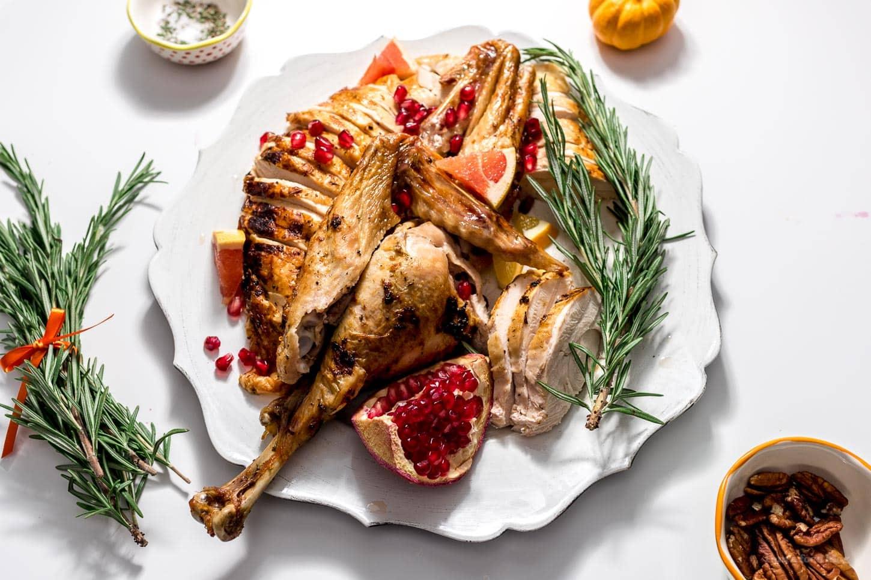 Spatchcock Roast Turkey Recipe   www.iamafoodblog.com