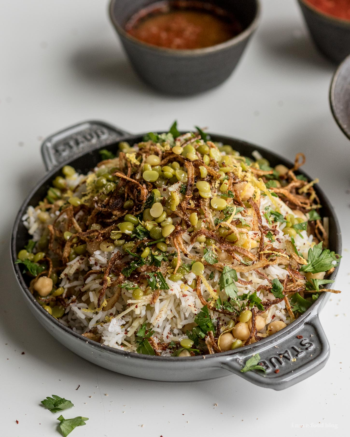 Egyptian Kosheri Rice Recipe | www.iamafoodblog.com