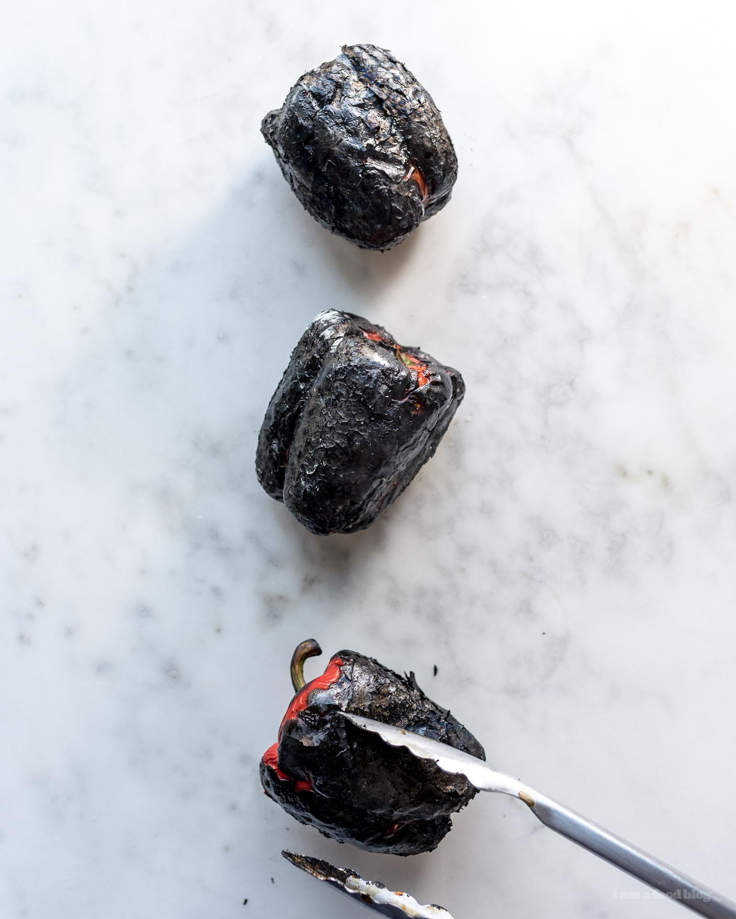 Ottolenghi's Muhammara/Roasted Red Pepper Dip Recipe - www.iamafoodblog.com