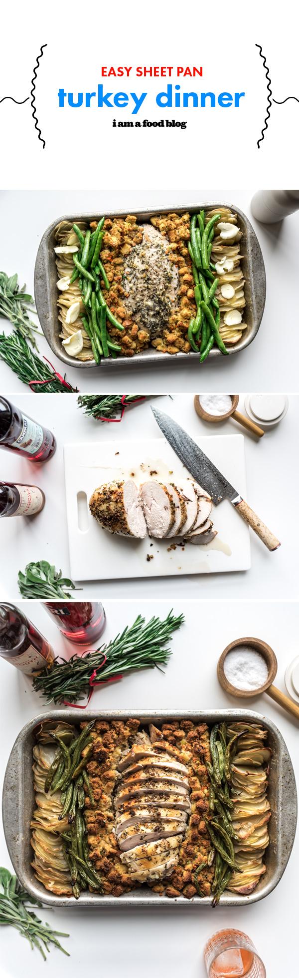 Sheet pan turkey dinner recipe i am a food blog i am a food blog pin497 forumfinder Choice Image