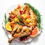 spatchcock turkey recipe   www.iamafoodblog.com