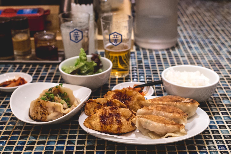 tachikichi kitchen gyoza | www.iamafoodblog.com