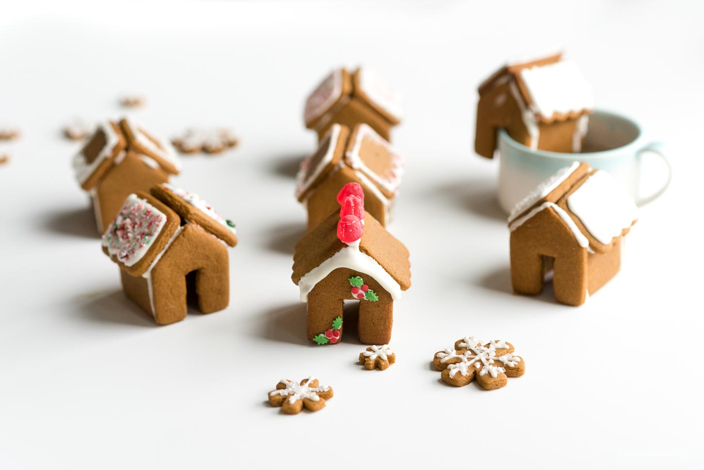 Mini Gingerbread Houses | www.iamafoodblog.com