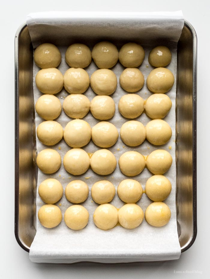 Mini Hot Ham and Cheese Sliders Recipe   www.iamafoodblog.com