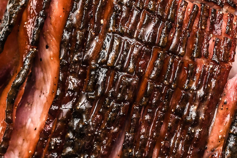 Honey Glazed Spiral Sliced Ham Recipe | www.iamafoodblog.com