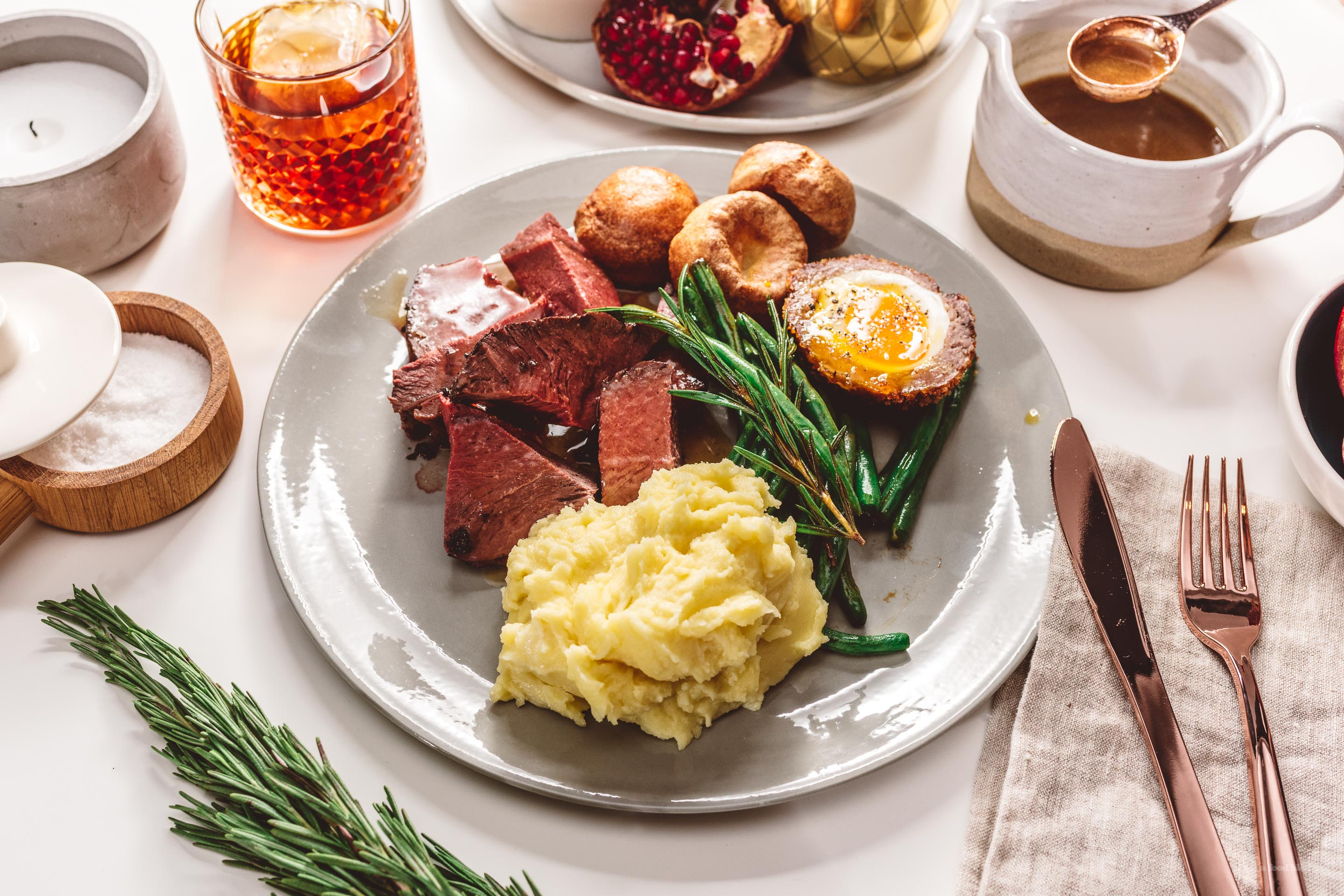 Simple classic english roast recipe i am a food blog i am a food blog growing up we never had a set traditional holiday meal sure some years my mom would make a turkey but sometimes shed make duck or salmon but really forumfinder Images