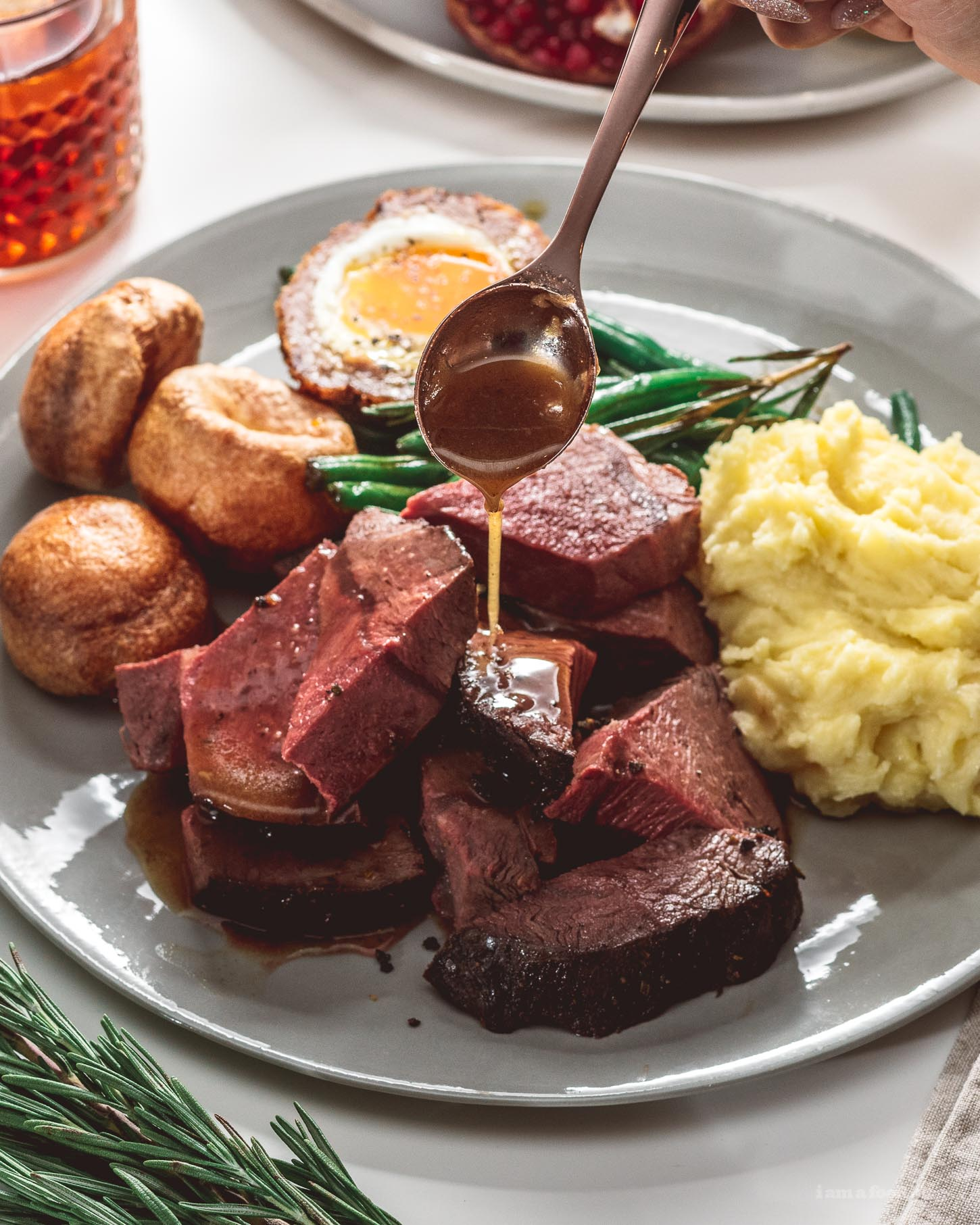 Simple Classic English Roast Recipe | www.iamafoodblog.com
