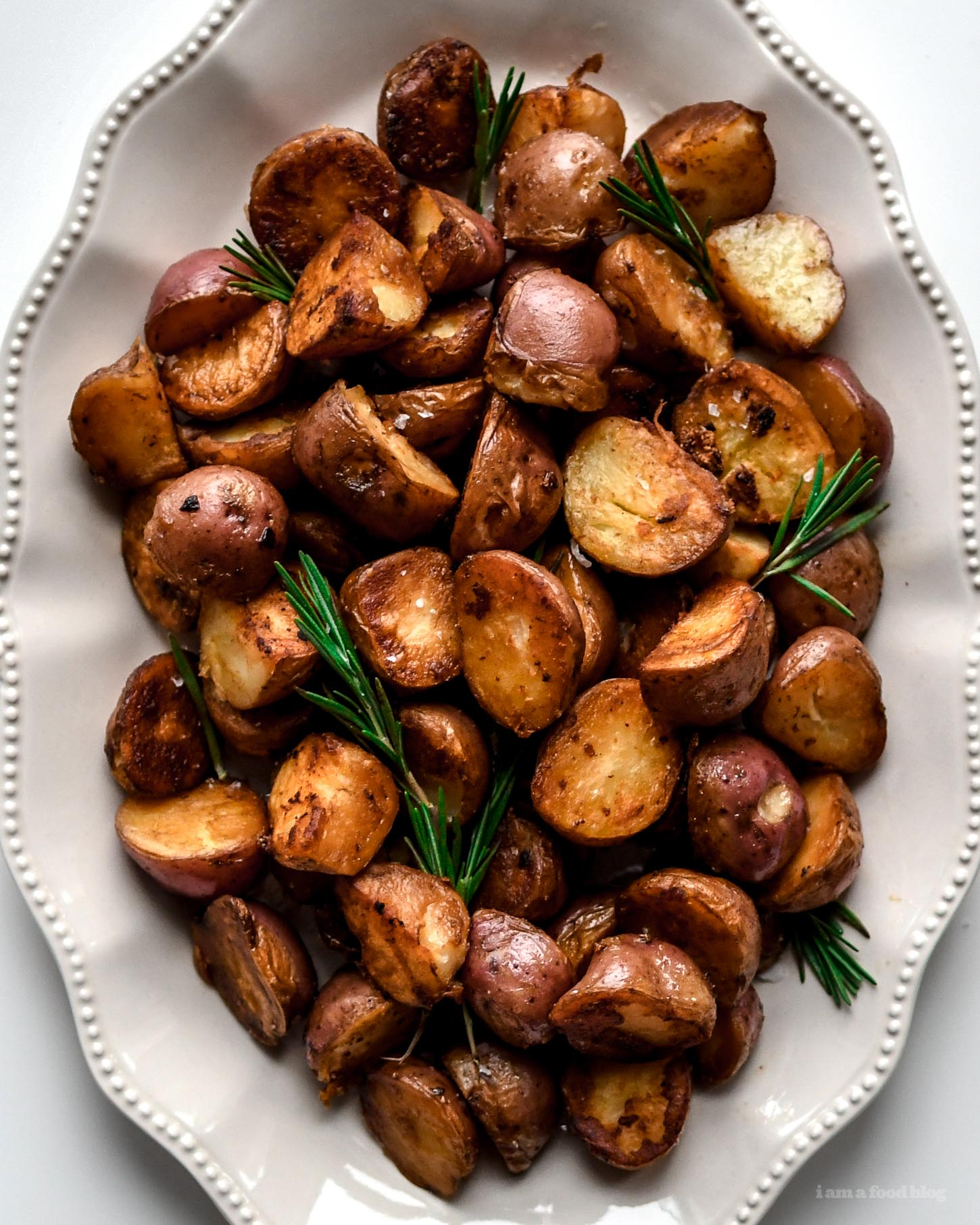 Easy Way To Cook Roasted Red Potatoes: Crispy Stovetop Roasted Red Potatoes Recipe · I Am A Food