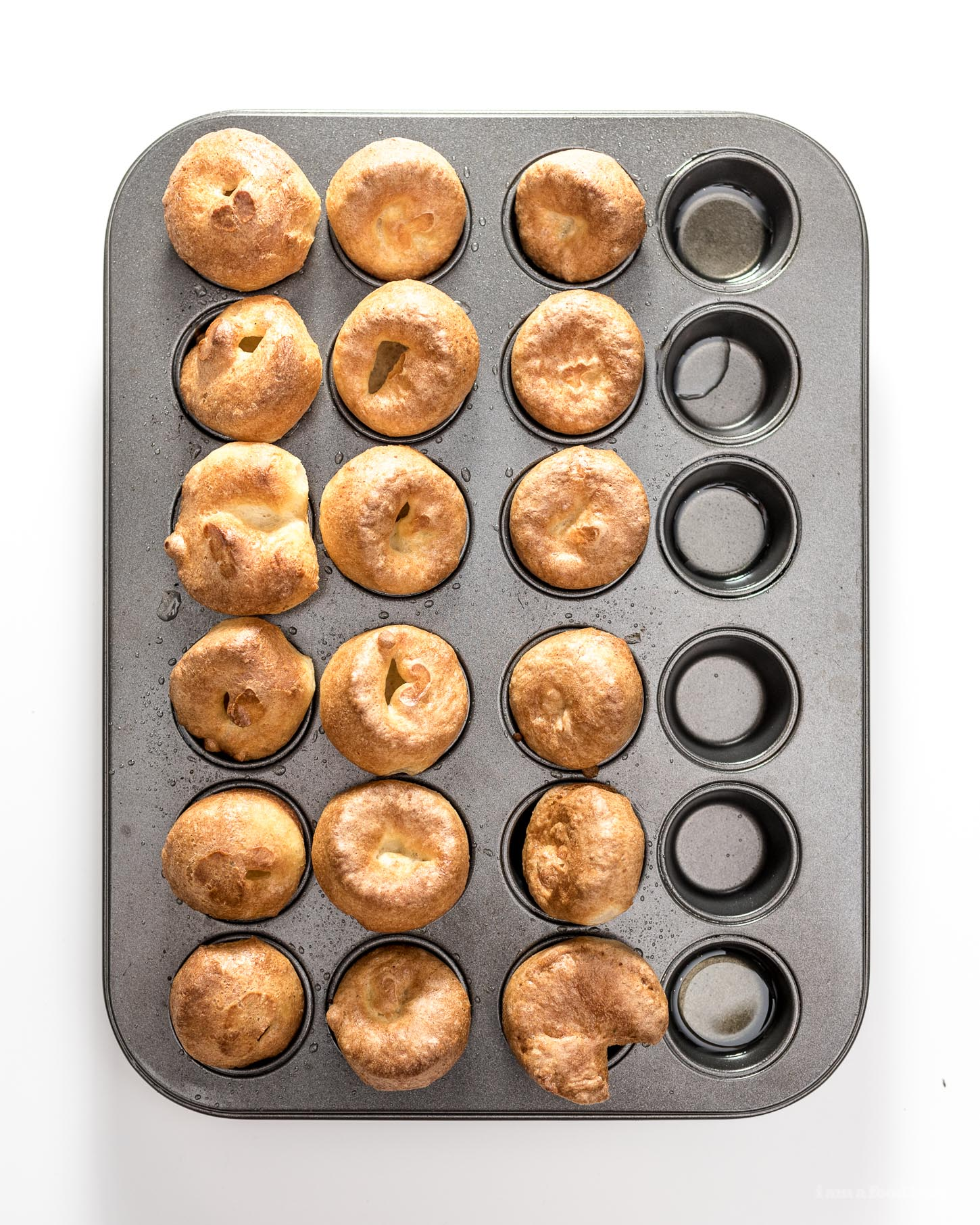 How to Make Mini Yorkshire Puddings | www.iamafoodblog.com