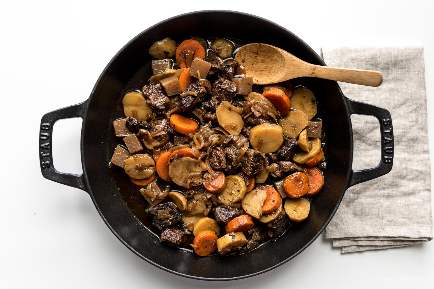 Nikujaga: Japanese Beef Stew Recipe and a Staub giveaway ...